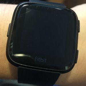 Fitbit Other | Versa Black | Poshmark